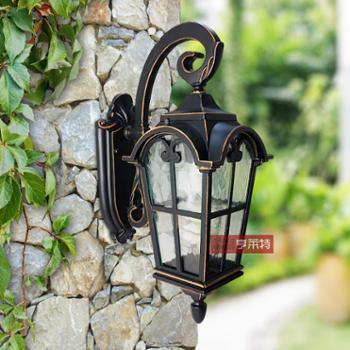 亨莱特 户外欧式防水壁灯 花园别墅阳台大门庭院壁灯 古罗马壁灯