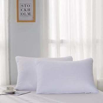 梦洁家纺护颈枕睡眠枕超柔软成人单人七孔纤维福枕(一个装)