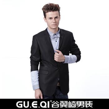 谷翼崎冬款韩版休闲西装品质男装西服修身男式西装NS901