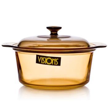 VISIONS康宁晶彩透明锅玻璃锅VSD-55公升煮锅汤锅