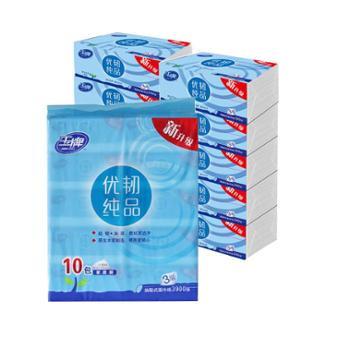 玉牌 优韧纯品系列面巾纸 2提20包 YF31301