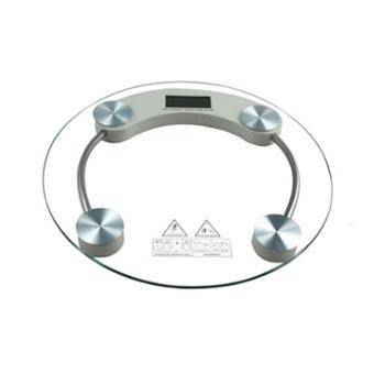 创悦CREAJOY 圆型8MM钢化玻璃美体电子称健康秤 体重秤 人体秤 家用秤 CY-9100 经典款