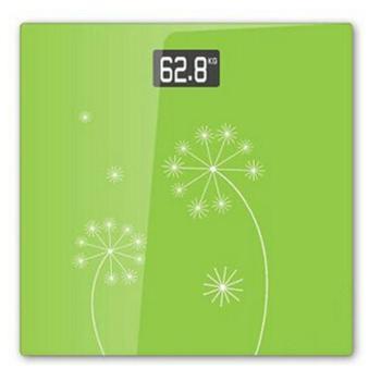 山鹰(gracy)SYE-903H-J电子秤人体称体重秤健康秤(绿色花语)