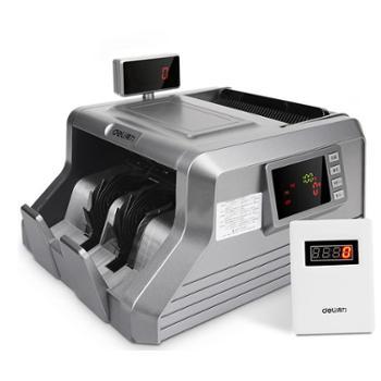 得力(deli) 3906A智能双屏点钞机验钞机 银行专用 USB升级