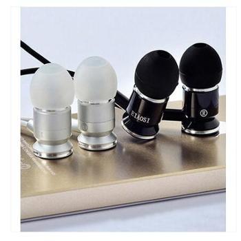 EIAOSI/伊奥思X6重低音入耳式耳机电脑手机通用耳塞金属耳机