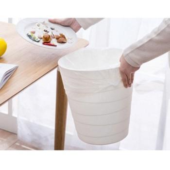 北欧简约无盖垃圾桶家用大号客厅卧室创意可爱卫生间厕所塑料篓筐