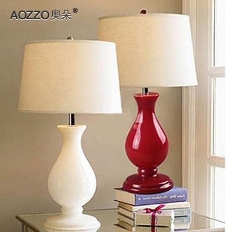 欧式台灯温馨卧室床头灯客厅婚庆装饰台灯复古