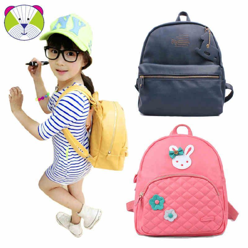 韩版可爱儿童书包 幼儿园-小学生男女宝宝防水pu皮双肩旅行潮背包