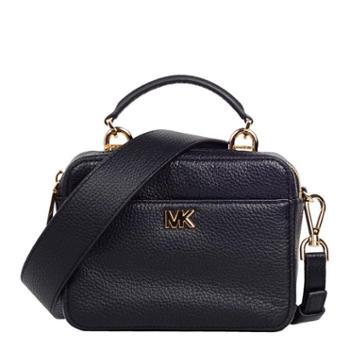 MICHAEL KORS 迈克.科尔斯 MK 女包 女士小方包 单肩包 斜挎包 手提包 32T8GF5C0L 黑色BLACK