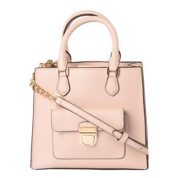 MICHAEL KORS 迈克.科尔斯 MK 女包 女士迷你包 盒子包 单肩包 斜挎包 手提包 35F7GBDT1L 淡粉色BALLET