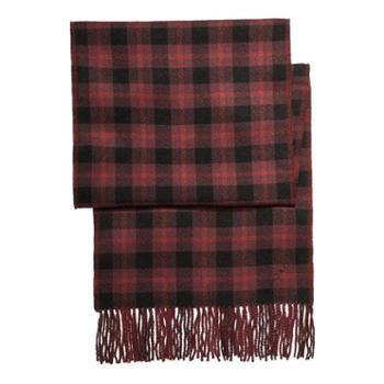 蔻驰(COACH) 女士羊毛围巾围脖 F56204 深红色OXB