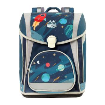 玛汀斯(Materns)星空 小学生男女儿童书包 1-3-5-6年包减负护脊反光卡通大容量双肩背
