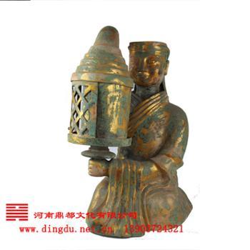 河南鼎都 安阳殷墟青铜器仿制基地 青铜器--长信宫灯