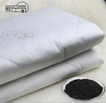 新空气活性炭保健床垫 纯棉1.8M吸湿干燥透气除甲醛