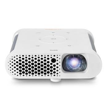 明基(BenQ)GS1家用投影机投影仪(720P高清分辨率300流明手机/微型/便携投影自带电池)