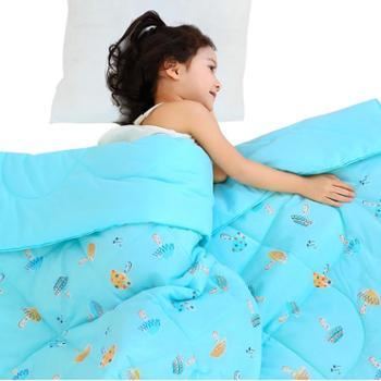 龙之涵纯棉印花夏凉被绗缝可水洗空调被单人夏季午睡被子春秋薄款150*200