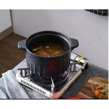 麦饭石养生锅