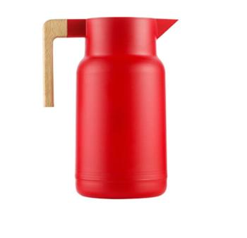菲驰(VENES)暖水瓶保温壶玻璃内胆热水壶 格调红