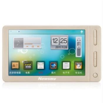 纽曼(Newsmy) A53HD 视频播放器MP4 MP5 8G 支持TV输出+FM+录音+游戏 高清触摸屏