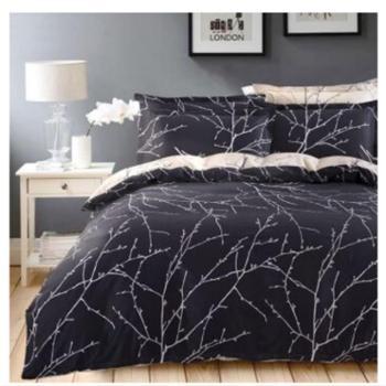 朴美家纺全棉床上用品四件套纯棉床单被罩双人床品4件套1.5米/1.8米床被套200*230
