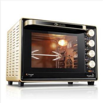长帝(changdi)32升L搪瓷内胆热风转叉家用电烤箱CRTF32PD