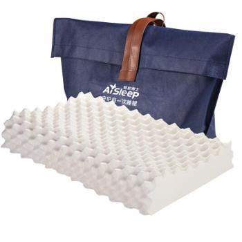 睡眠博士(AiSleep)枕芯 超大颗粒进口乳胶枕 泰国橡胶枕头 护颈枕头