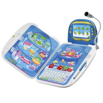 诺亚舟(Noah)NE600分体式儿童电脑点读机5英寸高清大屏手写笔写早教机蓝