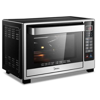 美的(Midea)T4-L326F 32升家用多功能电烤箱 专业烘焙 智能菜单 搪瓷内胆 双层隔热门