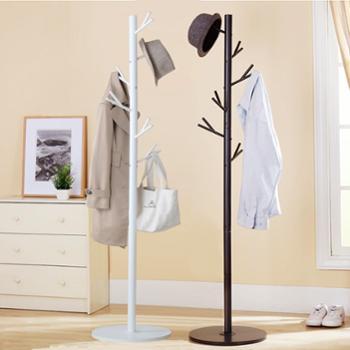 溢彩年华加粗管金属衣帽架树杈简易衣架卧室吊衣架DKC5570