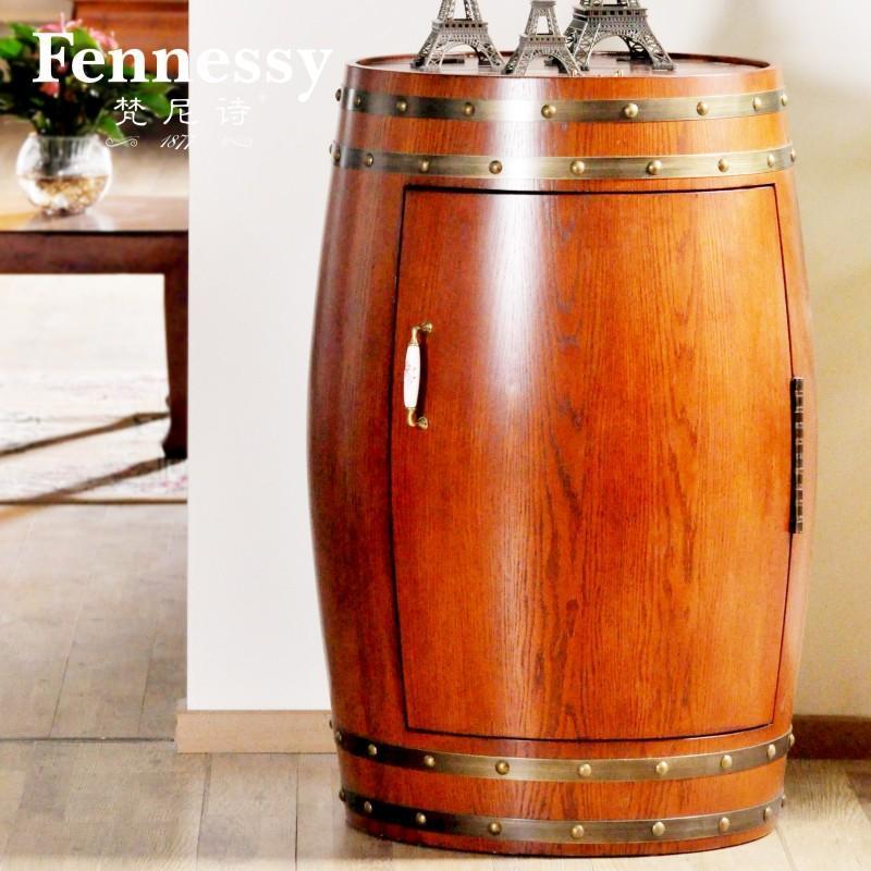 梵尼诗·欧堡j001实木恒温红酒桶橡木桶吧台别墅ktv必备家具