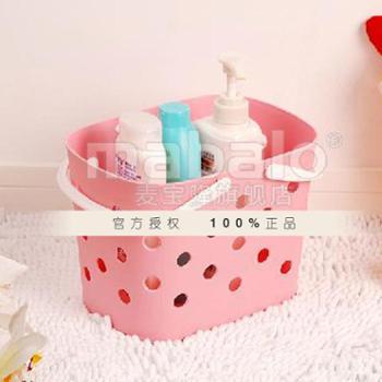 麦宝隆 MBL-0160 多用手提篮(颜色可选)浴室篮 杂物篮 收纳篮