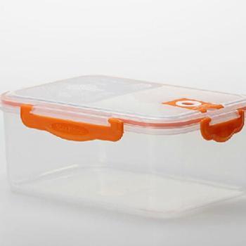 优美家 抽真空保鲜盒 密封保鲜盒 饭盒餐盒 冰箱保鲜盒800ML FC-9036