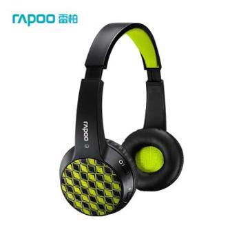 Rapoo/雷柏s100无线蓝牙耳机麦克风音乐电脑手机头戴式运动耳麦