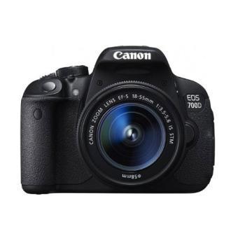 Canon 佳能 EOS 700D 数码单反套机(EFs 18-55mm/f3.5-5.6ISII镜头)