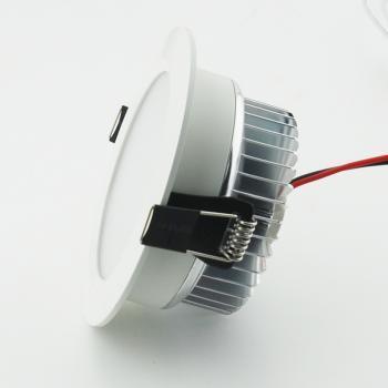 视美照明 4寸 12w LED天花筒灯 烤漆白 全套 节能 护眼 天花灯 正品