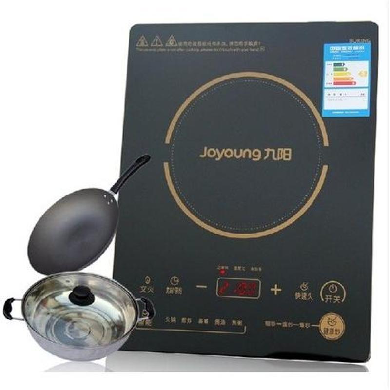 Joyoung 九阳 C21 SC006 九阳超薄电磁炉 黑晶面板 整板触摸 多功能