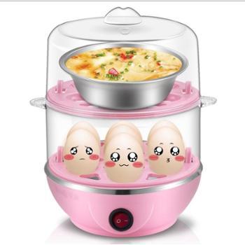 优益Y-ZDQ5双层多功能情侣煮蛋器不锈钢蒸蛋器煮蛋机自动断电