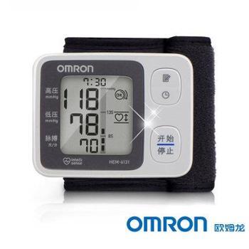 欧姆龙/OMRONHEM-6131手腕式电子血压计不规则脉波60次记忆值