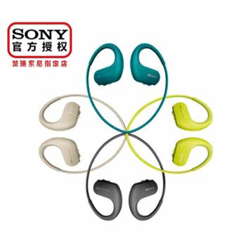 Sony/索尼NW-WS414后挂式防水防尘海水可用极速快充内置8G存储MP3耳机多彩色可选跑步专用高保真高解析度年轻时尚运动播放器