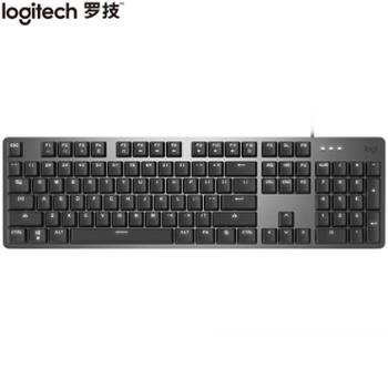 罗技(Logitech)K845机械键盘全尺寸单光TTC轴红轴