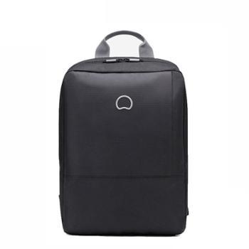DELSEY法国大使商务双肩背包14寸电脑包703501600黑色