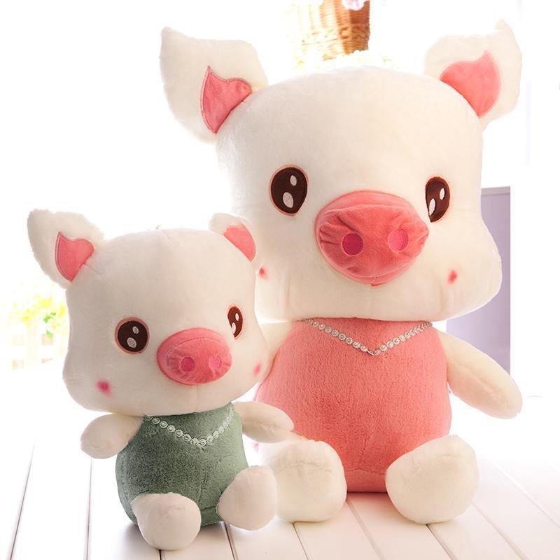 可爱娃娃猪 毛绒玩具大号飞天猪公仔布娃娃