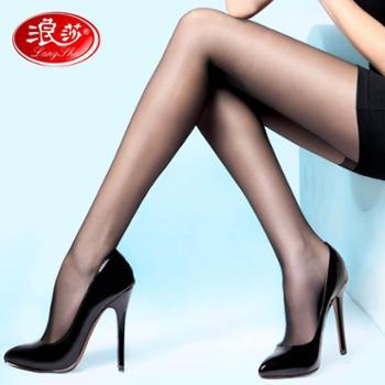 浪莎丝袜4双女士春夏薄款连裤袜防勾丝包芯丝显廋打底袜子