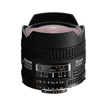 尼康/NIKON 16mm f/2.8D Fisheye 鱼眼 单反镜头 超广角
