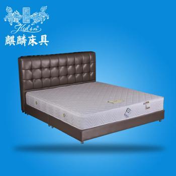 麒麟床垫椰棕偏硬床垫席梦思床垫特价独立弹簧床垫凤台秋月A椰棕独立袋装弹簧硬床垫席梦思