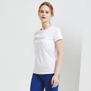 BLACKYAK/布来亚克夏季女士短袖T恤日常休闲时尚圆领上衣SCW046