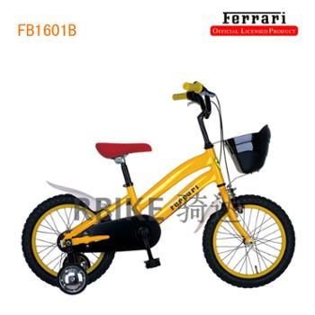 Ferrari法拉利FB1601B黄色儿童自行车