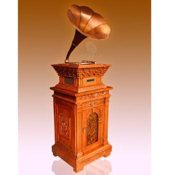 美人蕉仿古留声机 WE2010 源自美国 金典品牌 彰显贵族 高雅生活