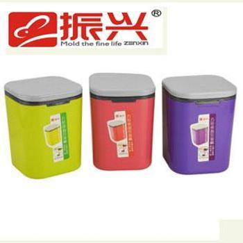 振兴 WTM0138垃圾桶 桌面垃圾桶 小垃圾桶 按压式垃圾桶 颜色随机