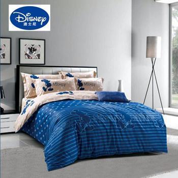迪士尼/Disney 奢华米奇纯棉四件套 DSN16-TJ031